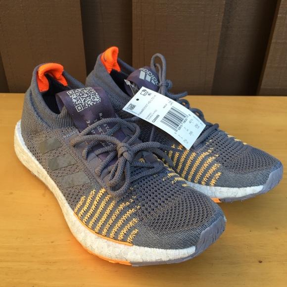 adidas Other - Adidas PulseBoost HD LTD men grey/orange sneakers